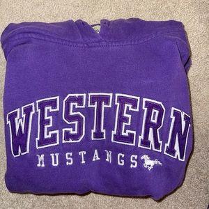 western hoodies/crewneck